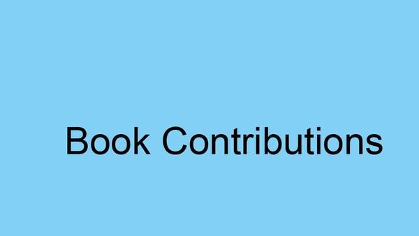 Beiträge zu Büchern