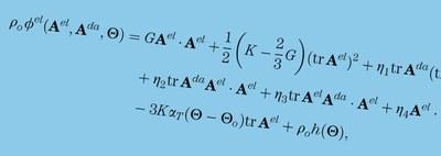 Formeln zu Kontinuumsschädigungs- und Versagensmodelle