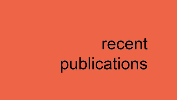 Aktuelle Veröffentlichungen