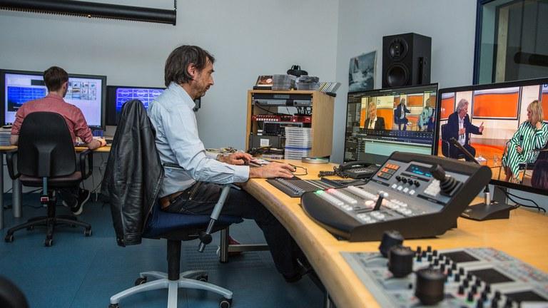 Regie und Medienarchivierung