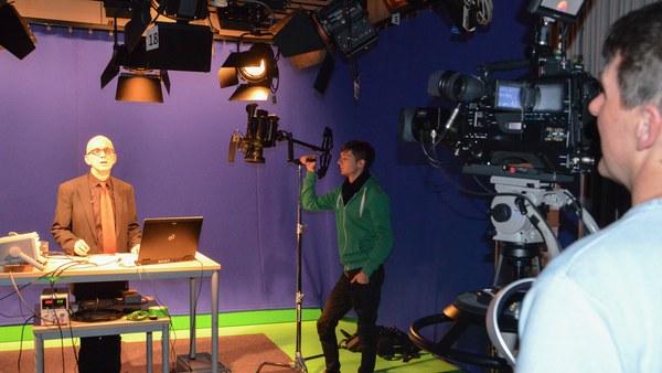 Aufnahmen im Studio
