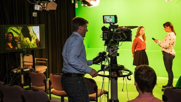 Das Fernsehstudio