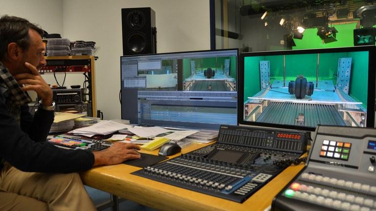Videoschnitt in der Regie