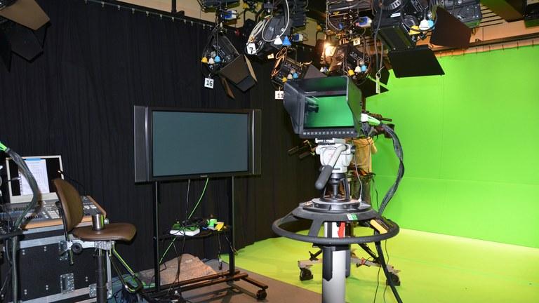 Studio mit Greenscreen