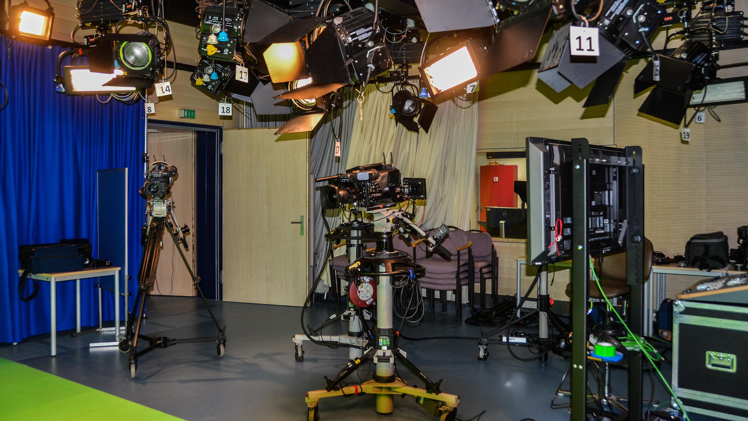 Unser Fernsehstudio