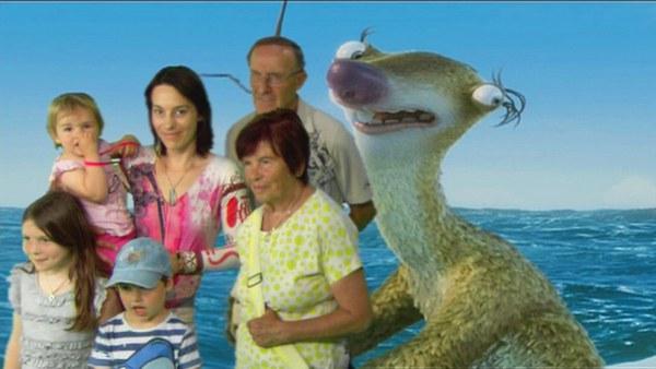Gruppenbild mit Sid