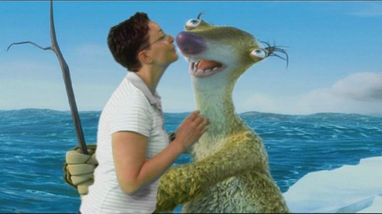 "Szene aus ""Ice Age"""