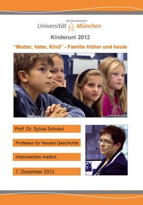 """Kinderuni zum Thema """"Mutter, Vater, Kind - Familie früher und heute"""""""