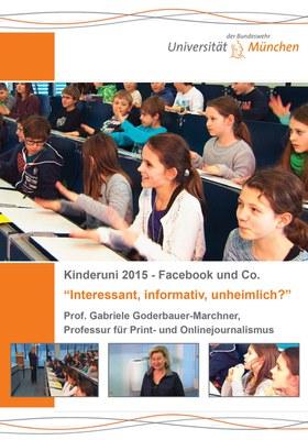 """Kinderuni zum Thema """"Facebook und Co – interessant, informativ, unheimlich?"""""""