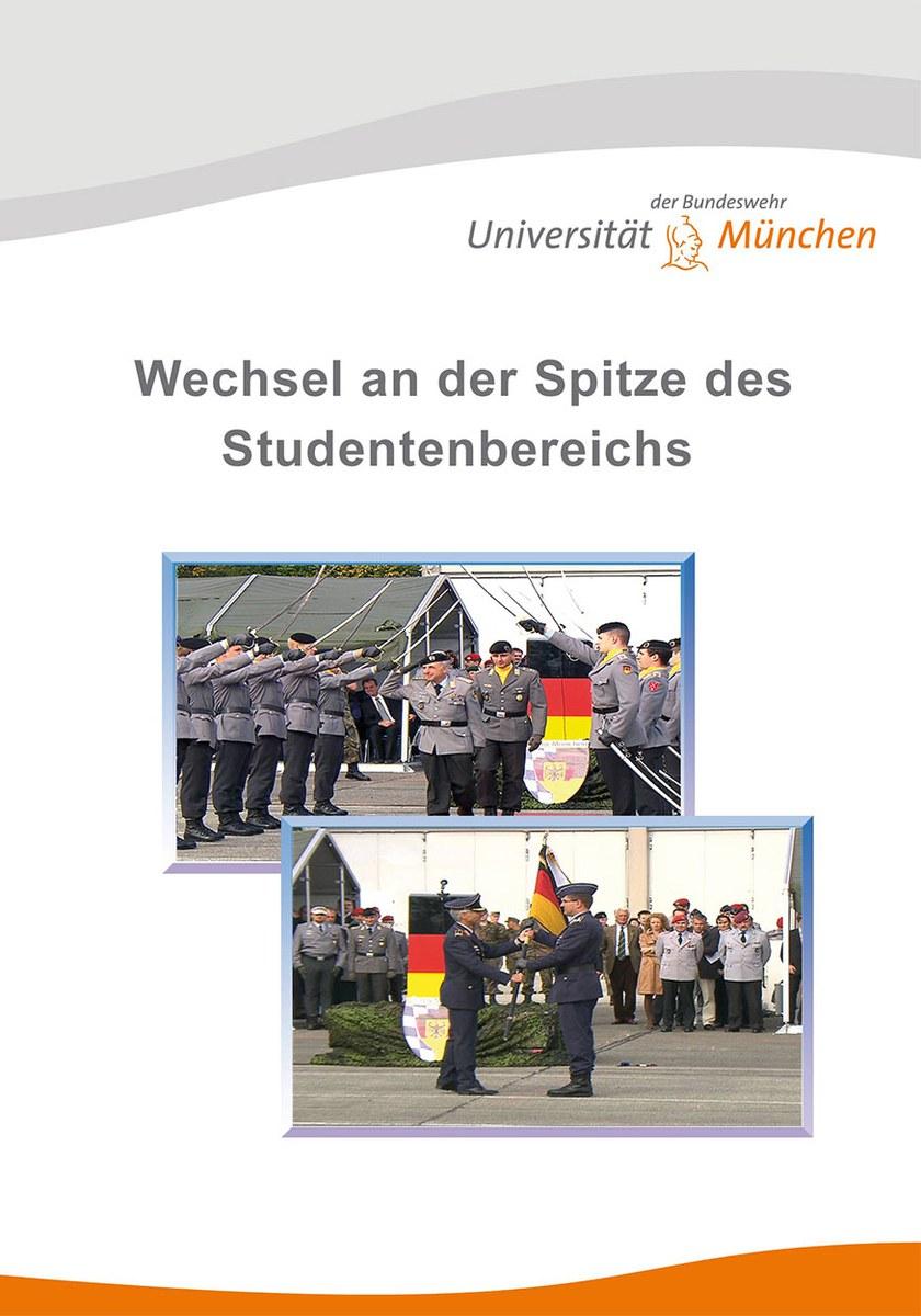 Wechsel an der Spitze des Studentenbereichs - Übergabeappell 2008