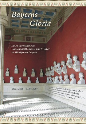 """DVD Cover zu """"Bayerns Gloria"""" Ausstellungseröffnung in der Bibliothek"""
