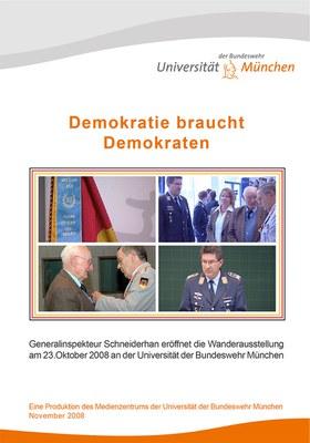 """DVD Cover zu """"Demokratie braucht Demokraten"""""""
