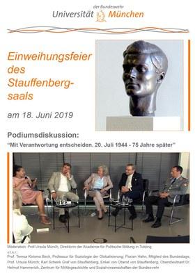 """DVD Cover zu - Veranstaltungssaal wird """"Stauffenberg-Saal"""" benannt"""