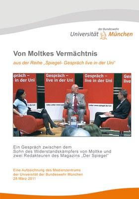 DVD Cover zum Spiegel-Gespräch an der Universität – von Moltkes Vermächtnis