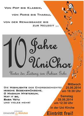 Unichor - 10 Jahre