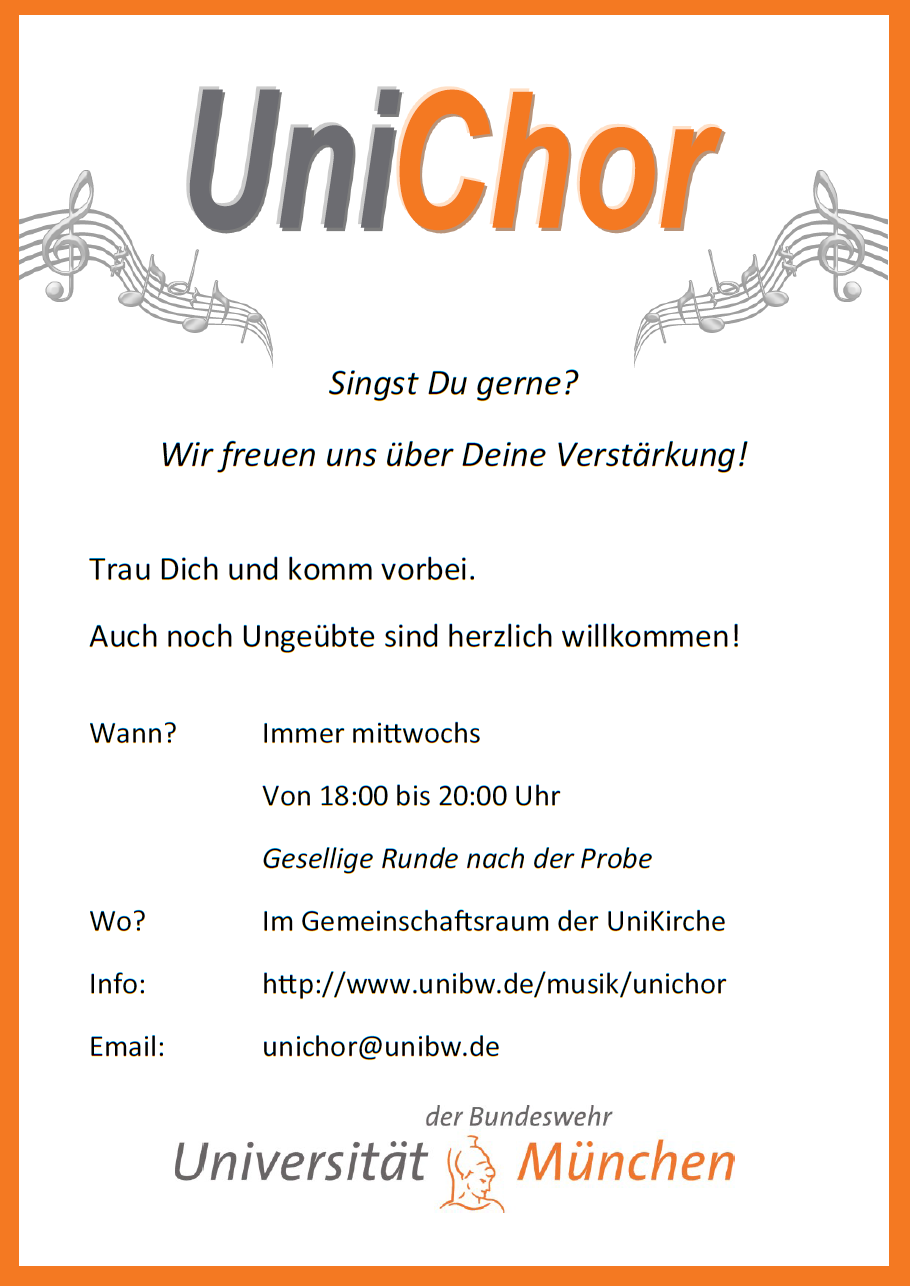Unichor - Flyer