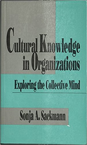 Cultural Knowledge in Organizations: Exploring the Collective Mind