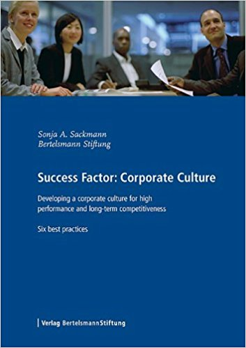 Success Factor Corporate Culture. Developing a Corporate Culture for High Performance and Long-term Competitiveness, Six Best Practices
