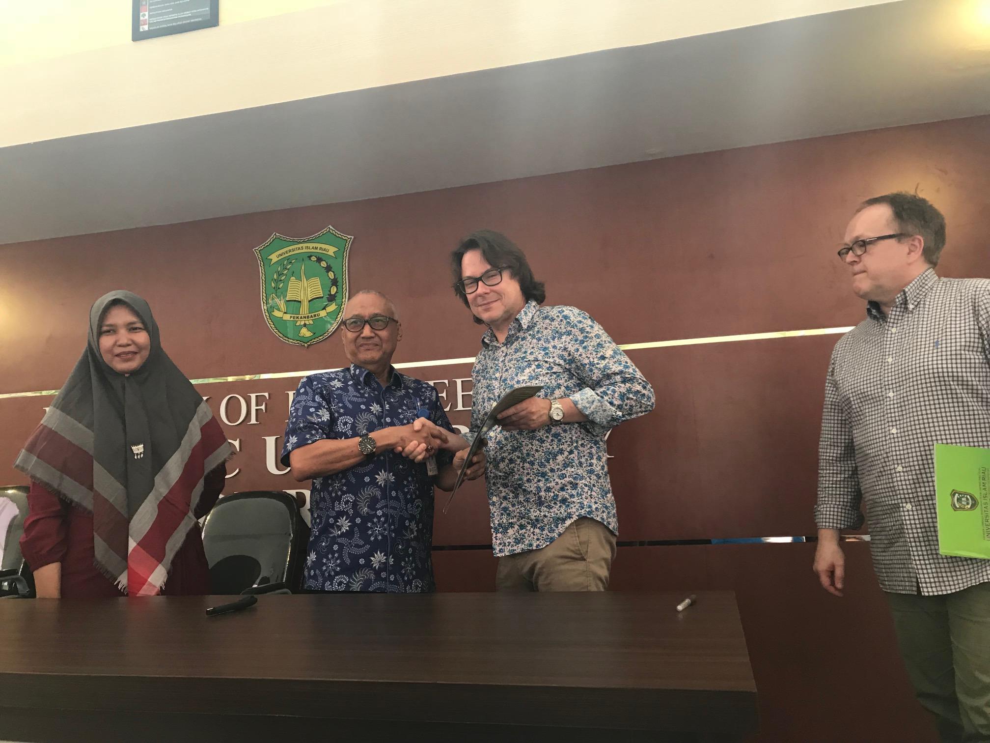 UIR Seminar an der Fakultät für Ingenieurwissenschaften 2018