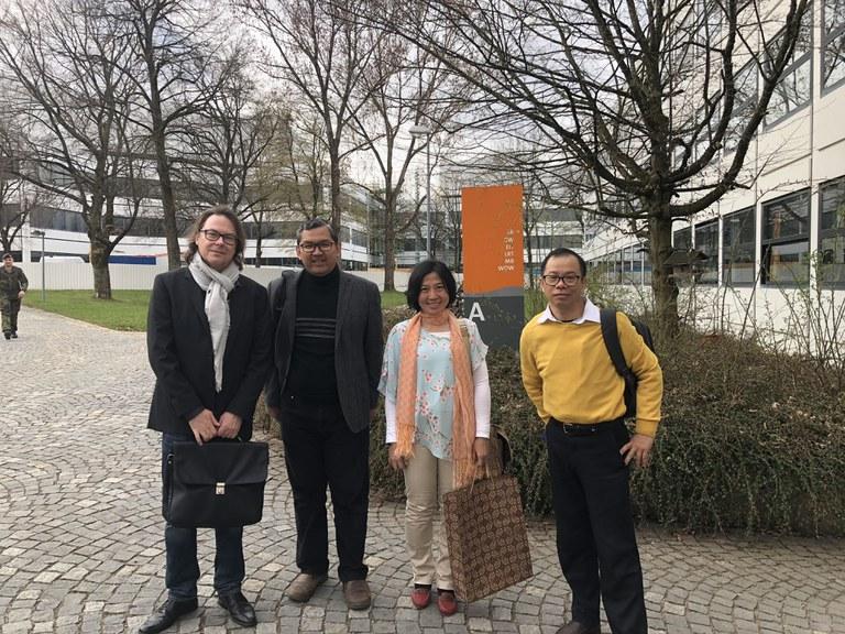 Besuch BINUS in München 2018