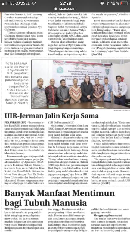 UIR POS Riau