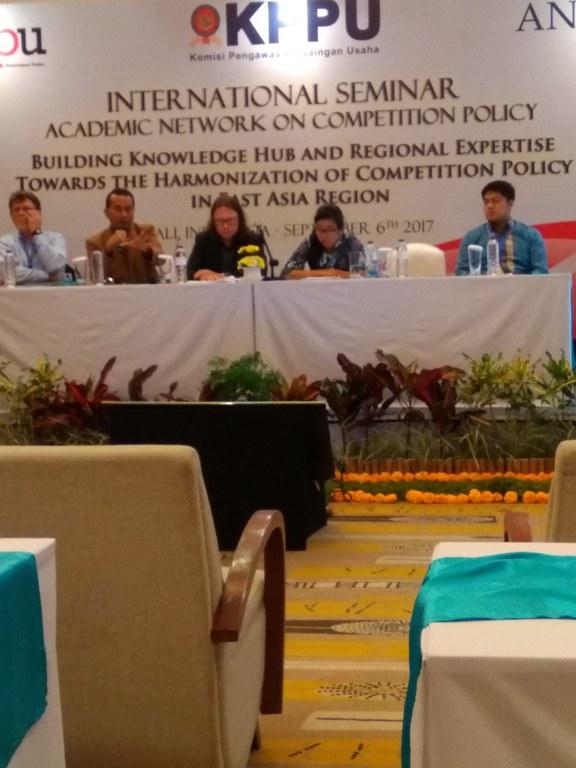 Int. Konf. Akad. Ausbildung im Wettbewerbsrecht Bali 2017 III