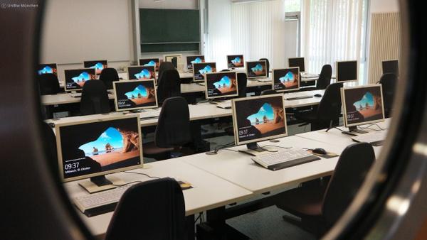Arbeitsräume und PC-Pools