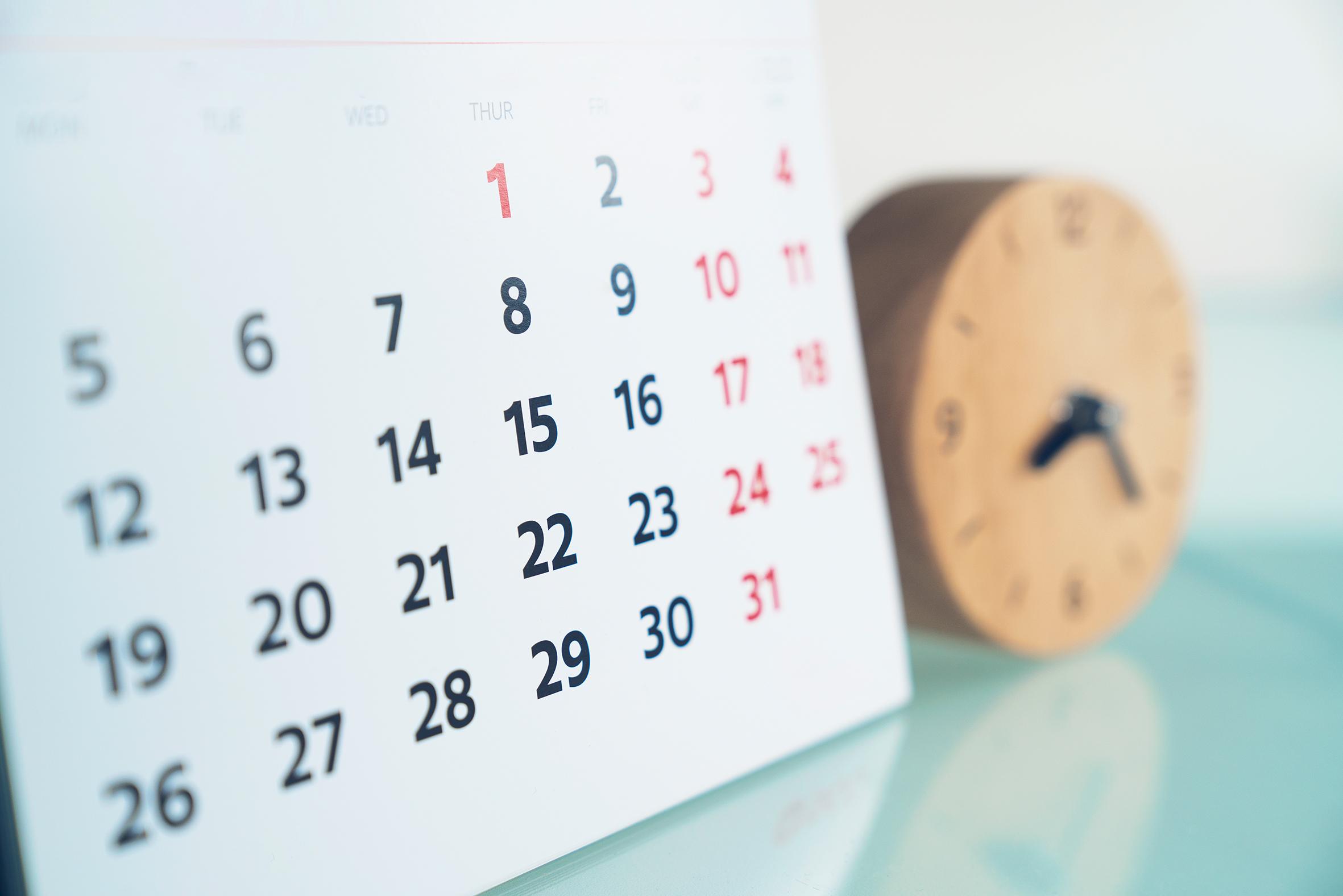 Kalender 2020 Rz