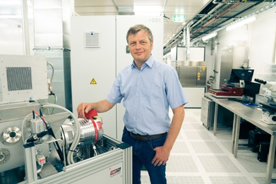 Sprecher des FZ SENS, Prof. Georg Düsberg