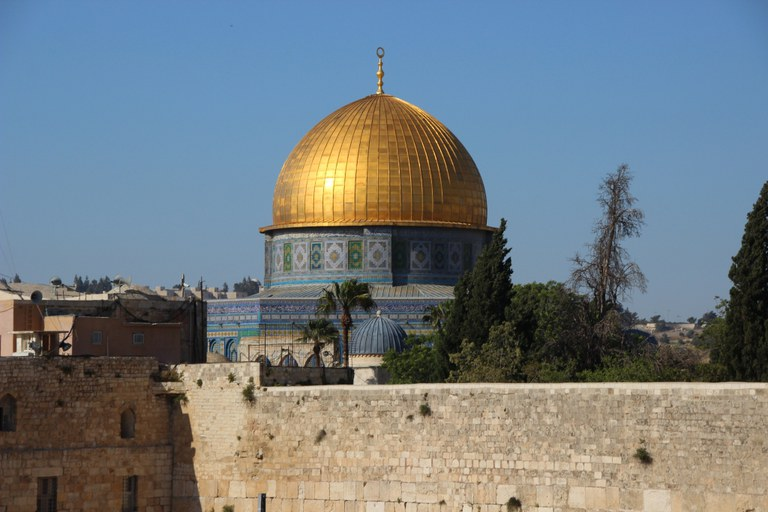 Western Wall (Kotel) and Dome of the Rock