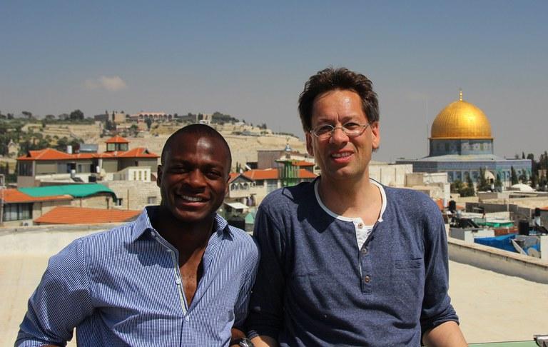 Student and lecturer, Austrian Hospice, Jerusalem