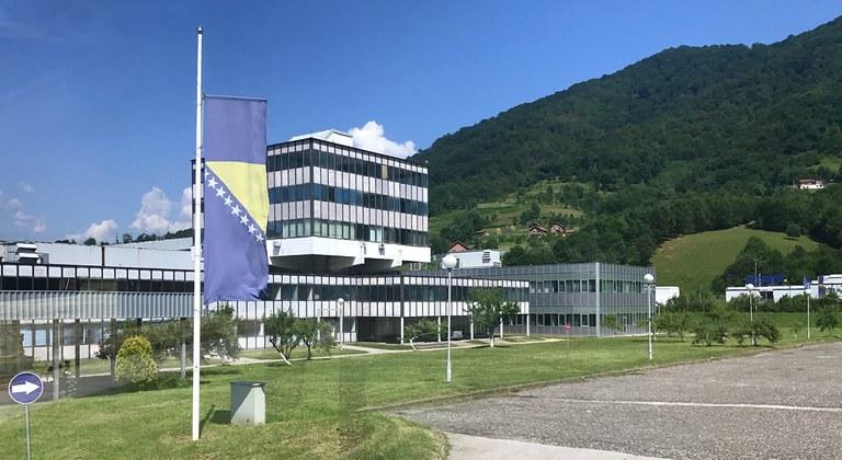 Dutchbat Srebrenica, main building