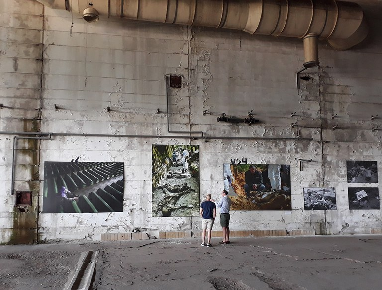 Exhibition at Dutchbat Srebrenica 1