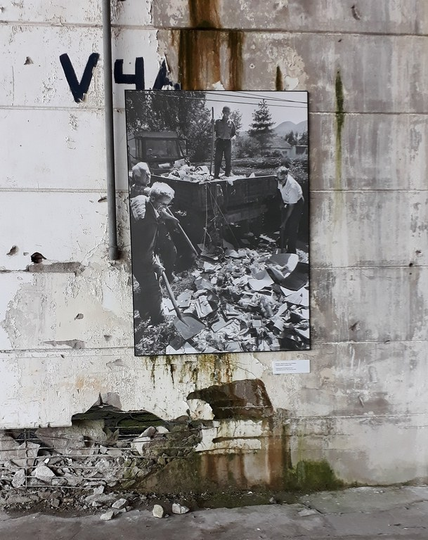 Exhibition at Dutchbat Srebrenica 2