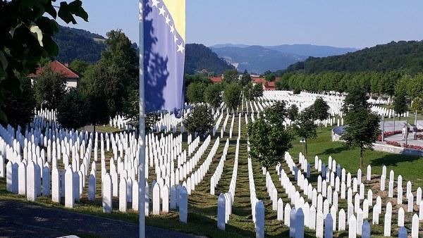 Tombstones (Potocari Memorial Center and Cemetery)