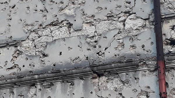 War damage in Mostar 2