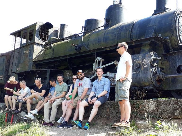 Locomotive in Jablanica