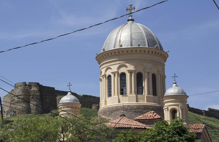 Georgian Orthodox church in Tbilisi