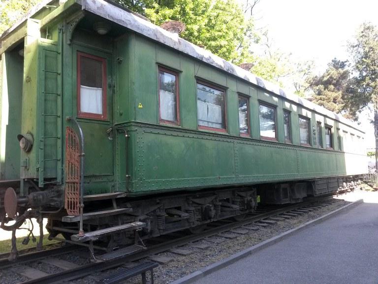 Stalin's railway car in Gori