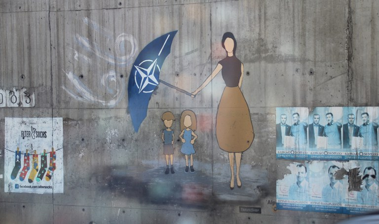 Street Art, Tbilisi 1