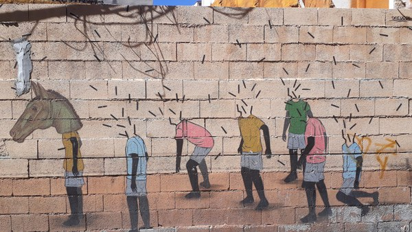 Migration and art (Malaga)