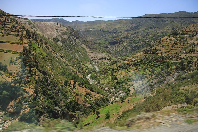 Rif-Gebirge Landschaft