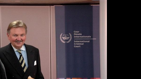 The Hague: Hans-Peter Kaul, judge at the International Criminal Court (ICC)