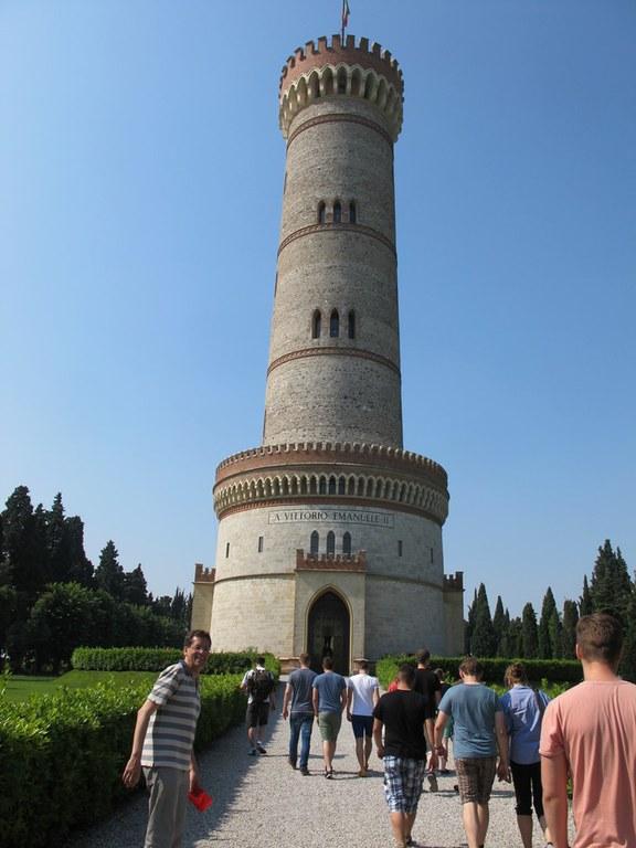 Solferino: Tower of San Martino della Battaglia