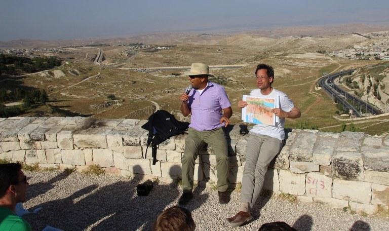 Westbank-Tour mit Shaul Arieli