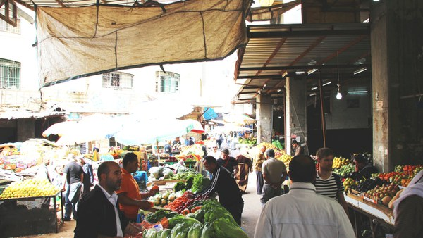 Obst- und Gemüsemarkt Ramallah