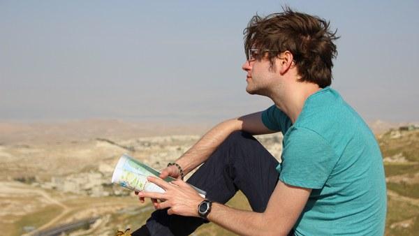 Blick über die West Bank