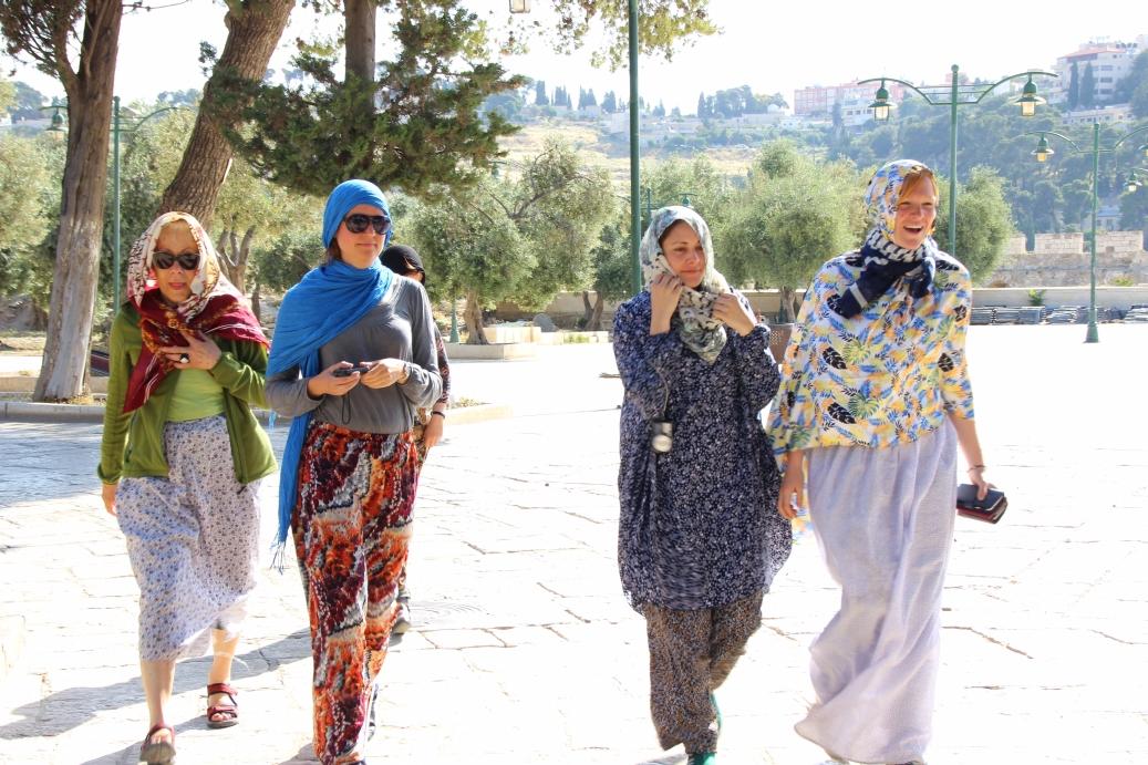 Teilnehmerinnen (Heiliges Plateau)