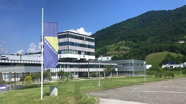 Dutchbat Srebrenica Hauptgebäude