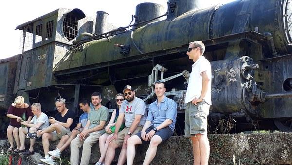 Lokomotive in Jablanica